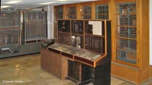 Cuando se invento la primera computadora, se bautizo con el nombre de Z3