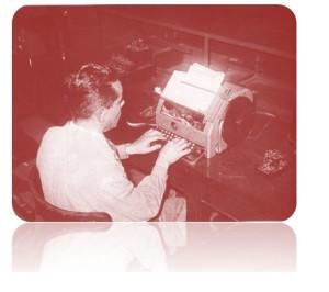 El teletipo fue uno de los primeros monitores