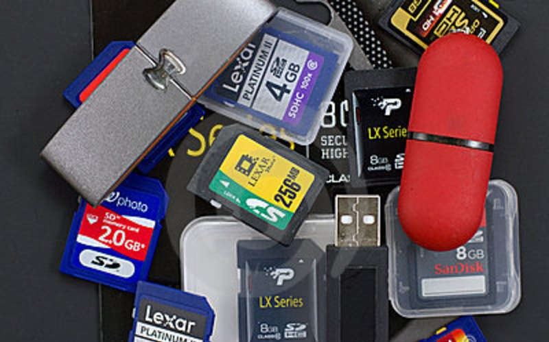 Tipos de dispositivos de almacenamiento