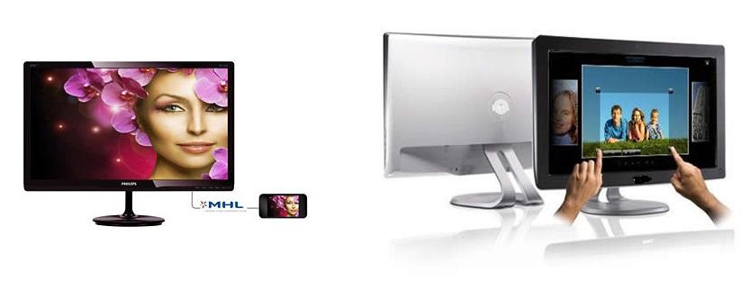 Actualmente existen una amplía variedad de tipos de monitores.