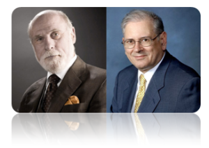 Vinton Cerf y Robert E. Kahn