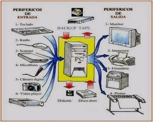 Los componentes de una computadora pueden ser de salida o de entrada