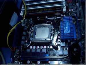 Imagen de los tipos de procesadores integrados  a la tarjeta madre.