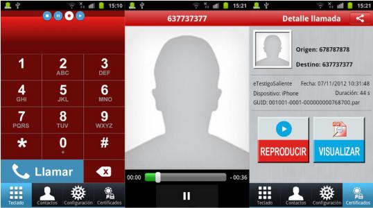 Grabar conversaciones telefónicas
